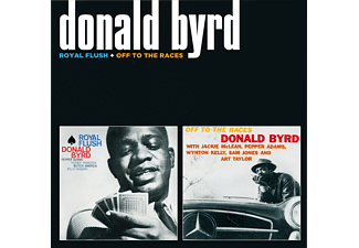 Donald Byrd - Royal Flush / Off to the Races (CD)