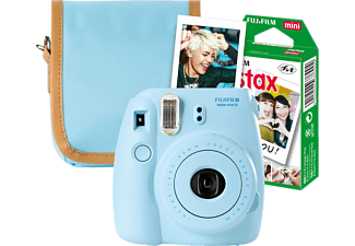 FUJIFILM INSTAX MINI 8 Travel Set, Sofortbildkamera