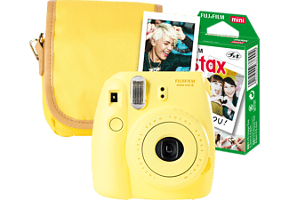 FUJIFILM INSTAX MINI 8 GELB TRAVEL SET