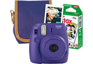 FUJIFILM INSTAX MINI 8 LILA TRAVEL SET