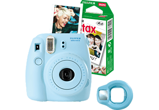 FUJIFILM INSTAX MINI 8 BLAU FUN-SET