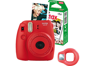 FUJIFILM INSTAX MINI 8 HIMBEER FUN-SET