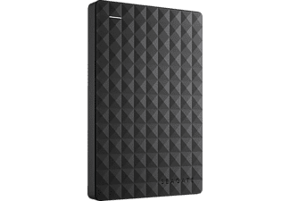 SEAGATE Expansion Portable Rescue Edition STEA1000200, 1 TB, Schwarz, Externe Festplatte, 2.5 Zoll