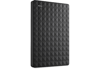 SEAGATE Expansion Portable Rescue Edition STEA2000200, 2 TB, Schwarz, Externe Festplatte, 2.5 Zoll