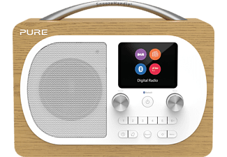 PURE Evoke H4, Digitalradio, Eiche