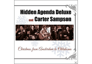 Hidden Agenda Deluxe, Carter Sampson - Christmas From Amsterdam To Oklahoma - (CD)