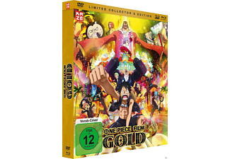 One Piece Movie Gold - Film 12 (Limited Collection) - (3D Blu-ray + Blu-ray + DVD)