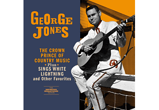 George Jones - The Crown Prince of Country Music/Sings White Lightning (CD)