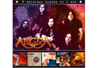 Angra - ANGRA (5 Original Albums In 1 Box) - (CD)