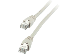 VIVANCO Nätverk Cat5e RJ45. 25m. - Grå