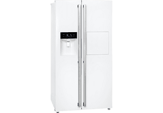 EXQUISIT SBS 530-3 FCBA+, Side-by-Side, A+, 415 kWh/Jahr, 1788 mm hoch, Weiß