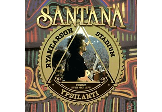 Carlos Santana - Live At The Rynearson Stadium,Ypsilanti Mi 25th Ma - (Vinyl)