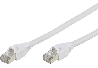 VIVANCO Nätverk CAT6 RJ45. 3m. - Vit