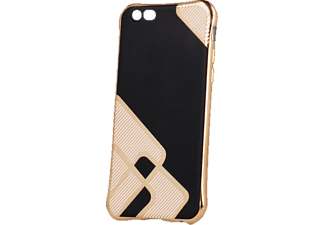 AGM Glamour, Backcover, iPhone 6, iPhone 6s, Kunststoff, Schwarz/Gold