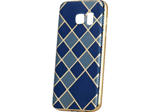 AGM Glamour, Backcover, Galaxy J5 (2016), Kunststoff, Blau/Gold