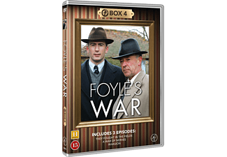 Foyles War Box 4 Thriller DVD