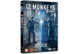 12 Monkeys Thriller DVD