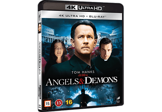Änglar och demoner Thriller 4K Ultra HD Blu-ray