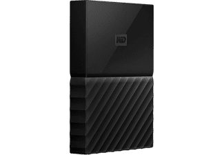 WD My Passport V2 4 TB - Svart