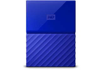 WD My Passport V2 4 TB - Blå