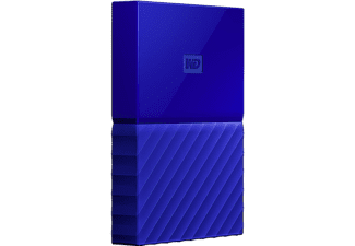 WD My Passport V2 3 TB - Blå