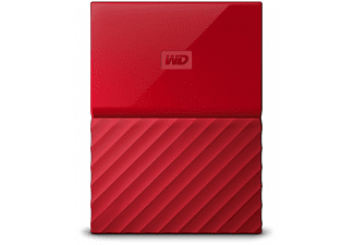 WD My Passport V2 2 TB - Röd