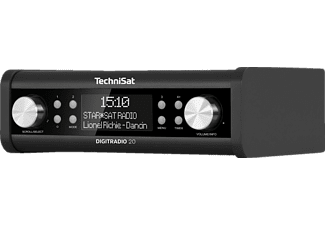 TECHNISAT DIGITRADIO 20, DAB+ Radio, Anthrazit
