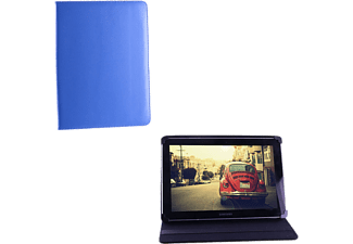 VOLTE-TEL Tablet 6.5 - 8.4 Universal Leather Book Stand Blue