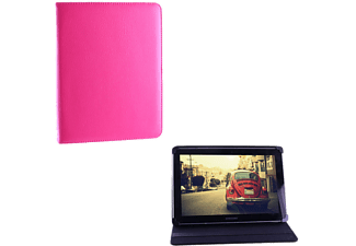 VOLTE-TEL Tablet 6.5 - 8.4 Universal Leather Book Stand Fucsia