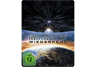 Independence Day: Wiederkehr (Media Markt exklusives Steelbook) [4K Ultra HD Blu-ray + Blu-ray]