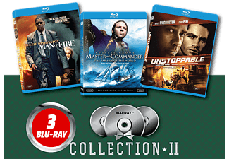Master and Commander/ Man on Fire/ Unstoppable Blu-ray