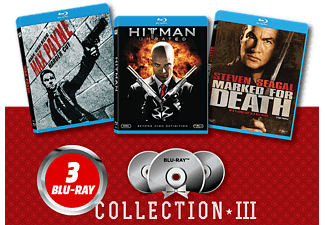Max Payne/ Hitman/ Marked for Death Blu-ray