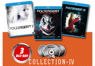 Poltergeist/ Poltergeist II: Τhe Other Side/ Poltergeist III Blu-ray