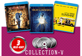 Night at the Museum/ Night at the Museum 2/ Little Miss Sunshine Blu-ray