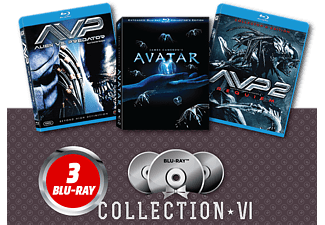 Alien vs Predator/ Alien vs. Predator 2/ Avatar Extended Blu-ray