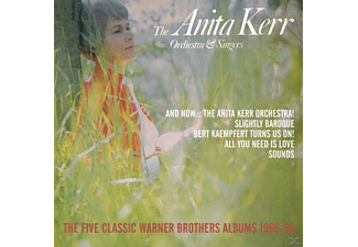 Anita Kerr Orchestra & Singers - The Five Classic Warner Brothers Albums (5CD Box) - (CD)