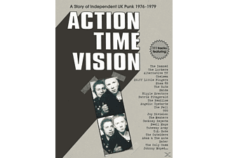 VARIOUS - Action Time Vision-Story Of Independent UK Punk - (CD)