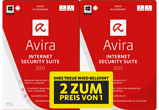 Avira Internet Security Suite 2017 - 1+1 Special