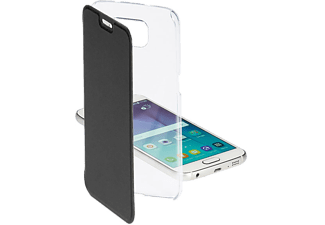 VIVANCO Wallet Clear Galaxy S6 - Svart