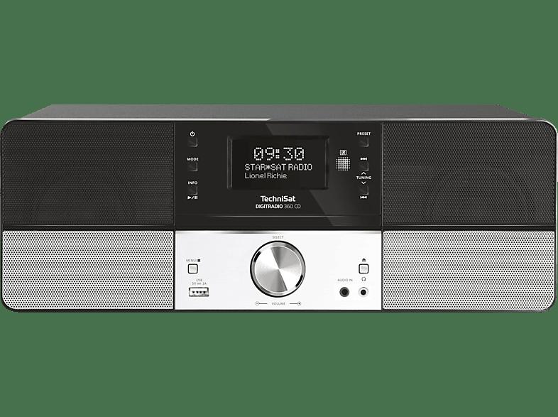 TECHNISAT DIGITRADIO 360 CD Digitalradio (Schwarz)
