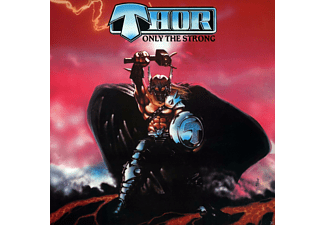 Thor - Only The Strong-Deluxe Edition - (CD + Buch)