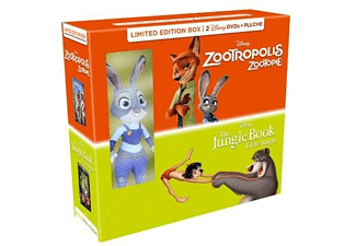 Jungle Book & Zootropolis + Pluche | DVD