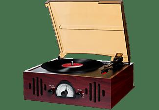 ion plattenspieler trio lp im nostalgie design mit radio. Black Bedroom Furniture Sets. Home Design Ideas