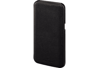 TOM TAILOR New Basic, Bookcover, Galaxy S7 Edge, Polyurethan (PU), Schwarz