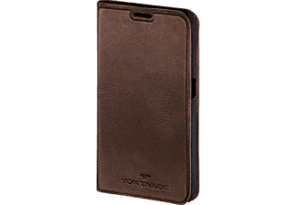 TOM TAILOR Authentic, Bookcover, Samsung, Galaxy S7, Leder (Obermaterial), Braun