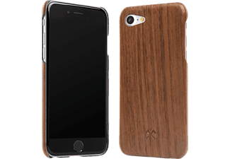 WOODCESSORIES EcoCase Kevlar, Backcover, Apple, iPhone 7, Echtholz/Kevlar, Walnuss