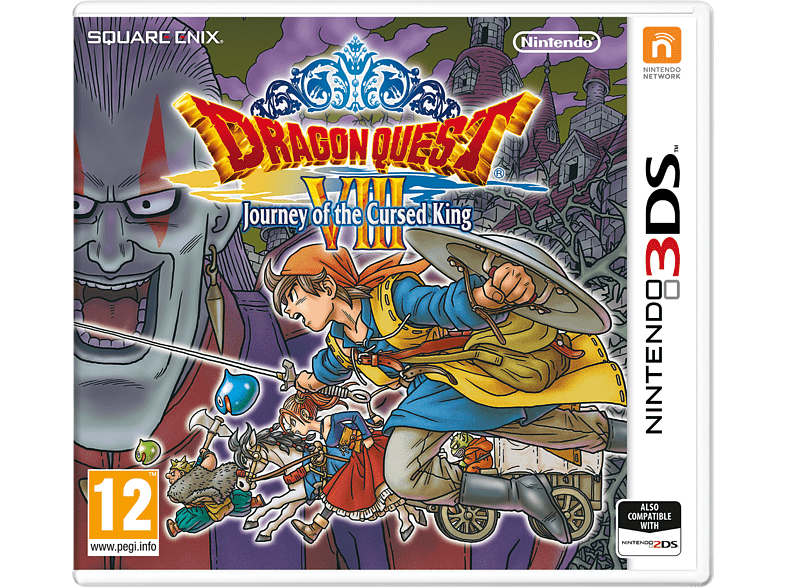 Dragon Quest Viii : Journey Of The Cursed King gaming φορητές κονσόλες games 2ds  3ds