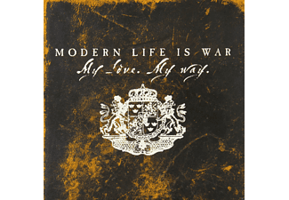 Modern Life Is War - My Love.My War (Red) - (Vinyl)