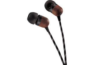 MARLEY EM-JE041-SB SMILE JAMAICA SIGNATURE BLACK, In-ear Kopfhörer, Schwarz/Signature Black