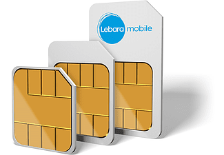 LEBARA Max. 1GB DATA + €15 BELTEGOED
